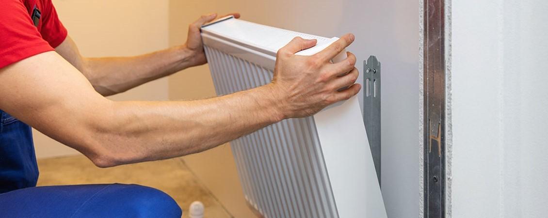 Instalación de radiador